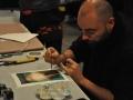 Alessandro Sanna - il workshop all'Accademia Ligustica di Belle Arti di Genova - foto di Sofia Regarci