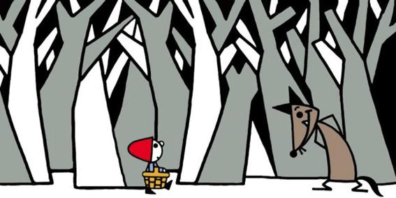 Cappuccetto Rosso, Lapis