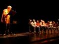 001. La festa finale al Teatro dell'Archivolto con Giorgio Scaramuzzino
