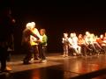 005. La festa finale al Teatro dell'Archivolto con Giorgio Scaramuzzino
