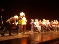 006. La festa finale al Teatro dell'Archivolto con Giorgio Scaramuzzino