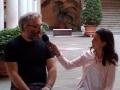 Matteo Corradini intervistato da Rebecca del Tg dei Ragazzi prima del reading