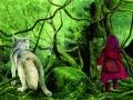 Fabian Negrin, Cappuccetto Rosso, da Grimm. Tutte le fiabe (Donzelli)