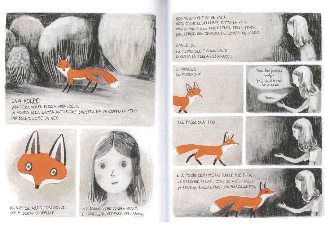 Jane, la volpe & io (Mondadori) di Fanny Britt e Isabelle Arsenault