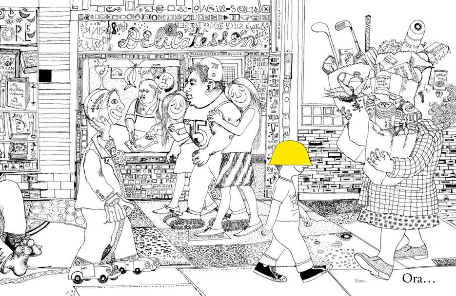 Frank Asch, ill. di Mark Alan Stamaty, Giallo giallo, Orecchio Acerbo