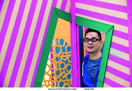Jimmy Liao a Tuttestorie nello scatto di Daniela Zedda