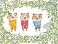 I tre porcellini d'India, Guia Risari - ill. di Valeria Valenza
