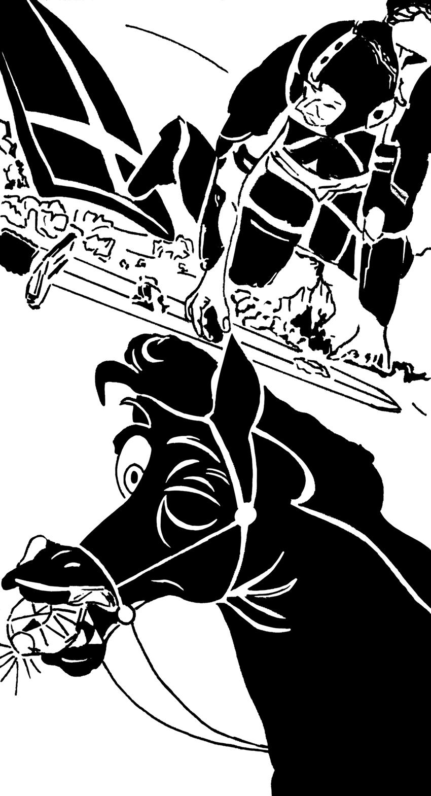 illustrazione di Barbara Tropeano - Genoa Comics Academy