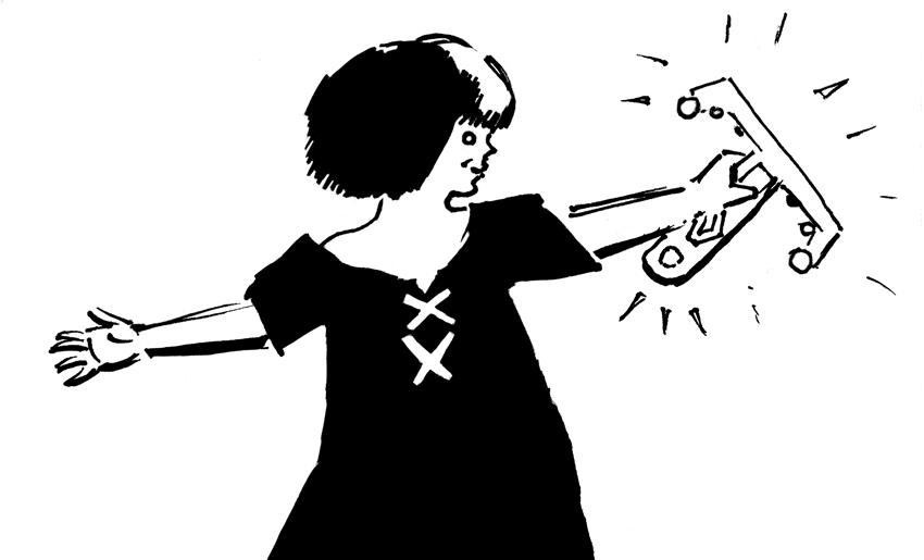 illustrazione di Marco Iacucci - Genoa Comics Academy