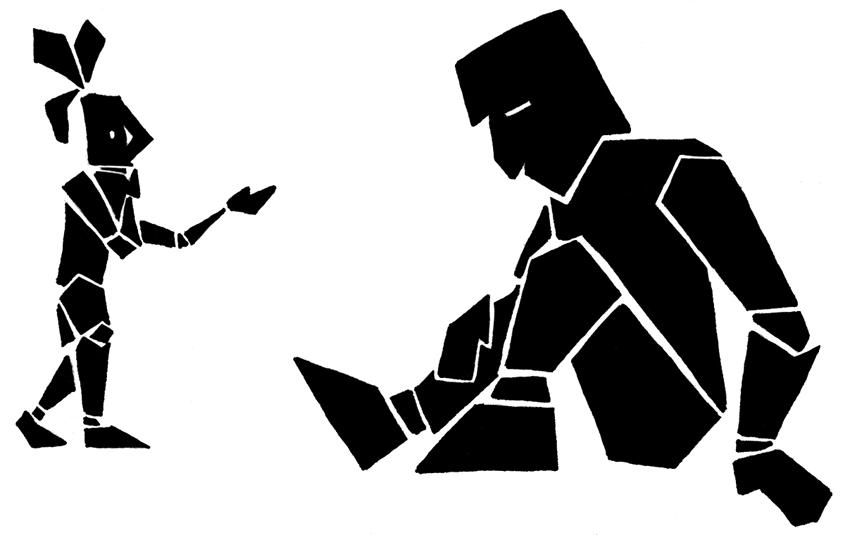 illustrazione di Tommaso Rezzano Genoa Comics Academy