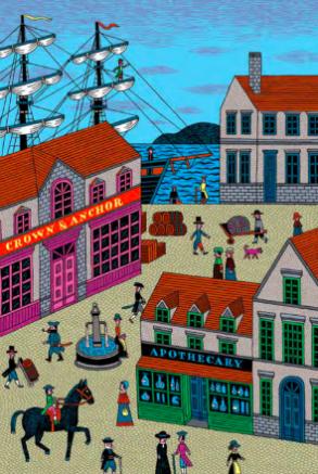 Il pirata e il farmacista (Orecchio Acerbo, 2013) di R.L. Stevenson e Henning Wagenbreth