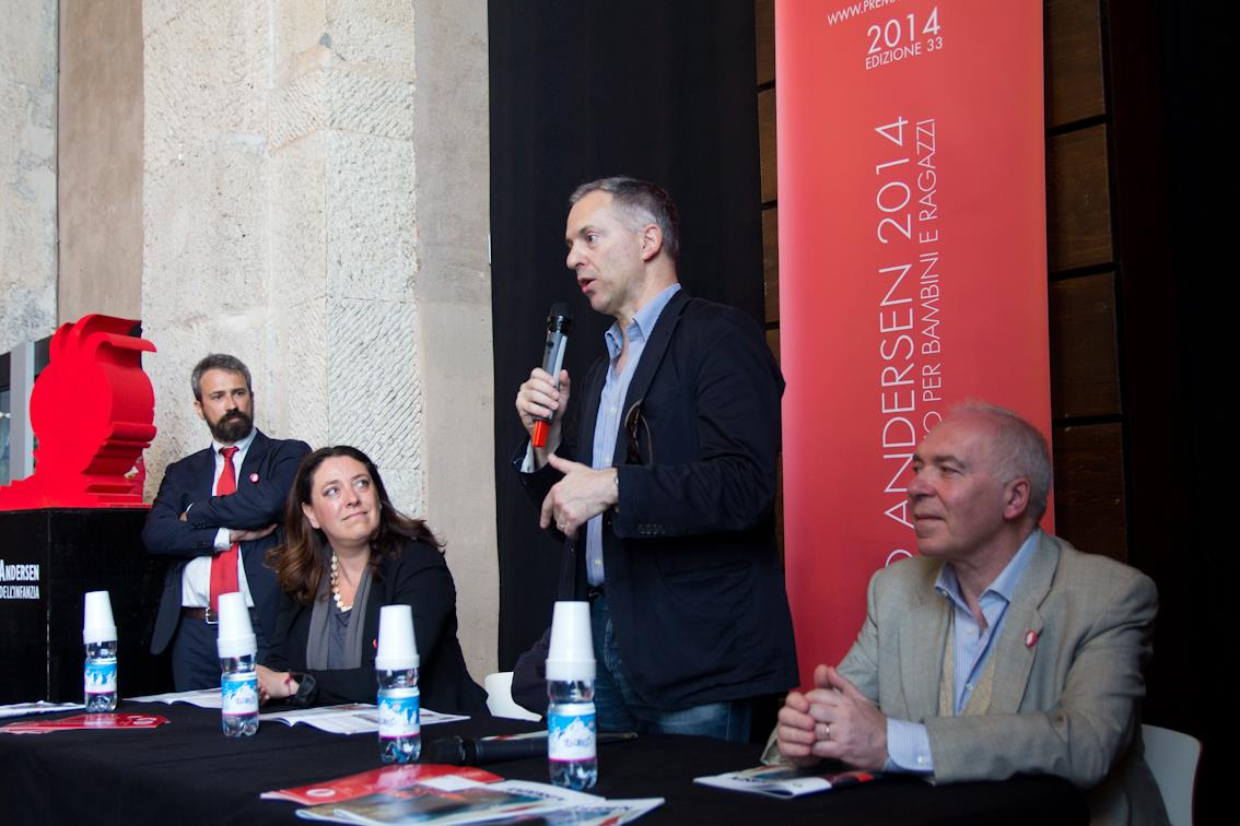 Il saluto del sindaco di Genova Marco Doria