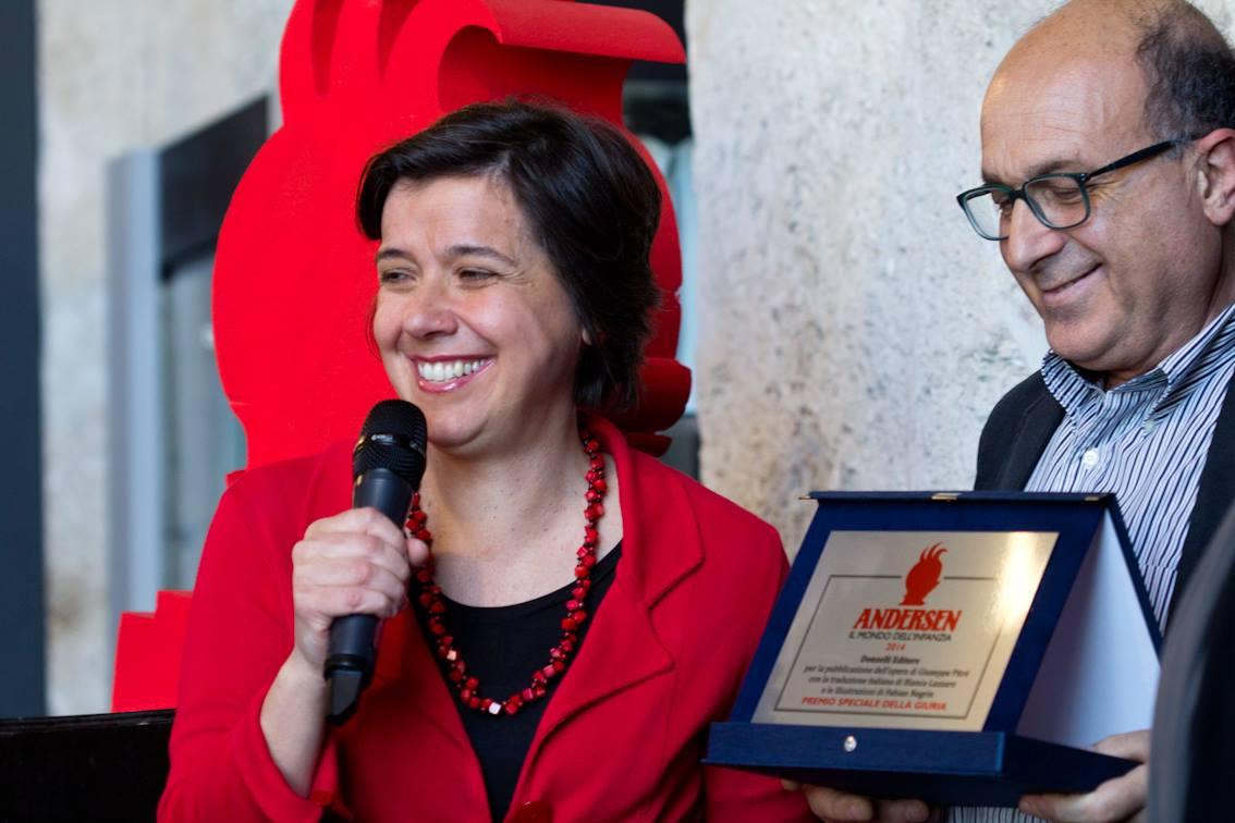 Il pozzo delle meraviglie di Pitrè tradotto da Bianca Lazzaro e illustrato da Fabian Negrin Donzelli editore, Premio speciale della giuria