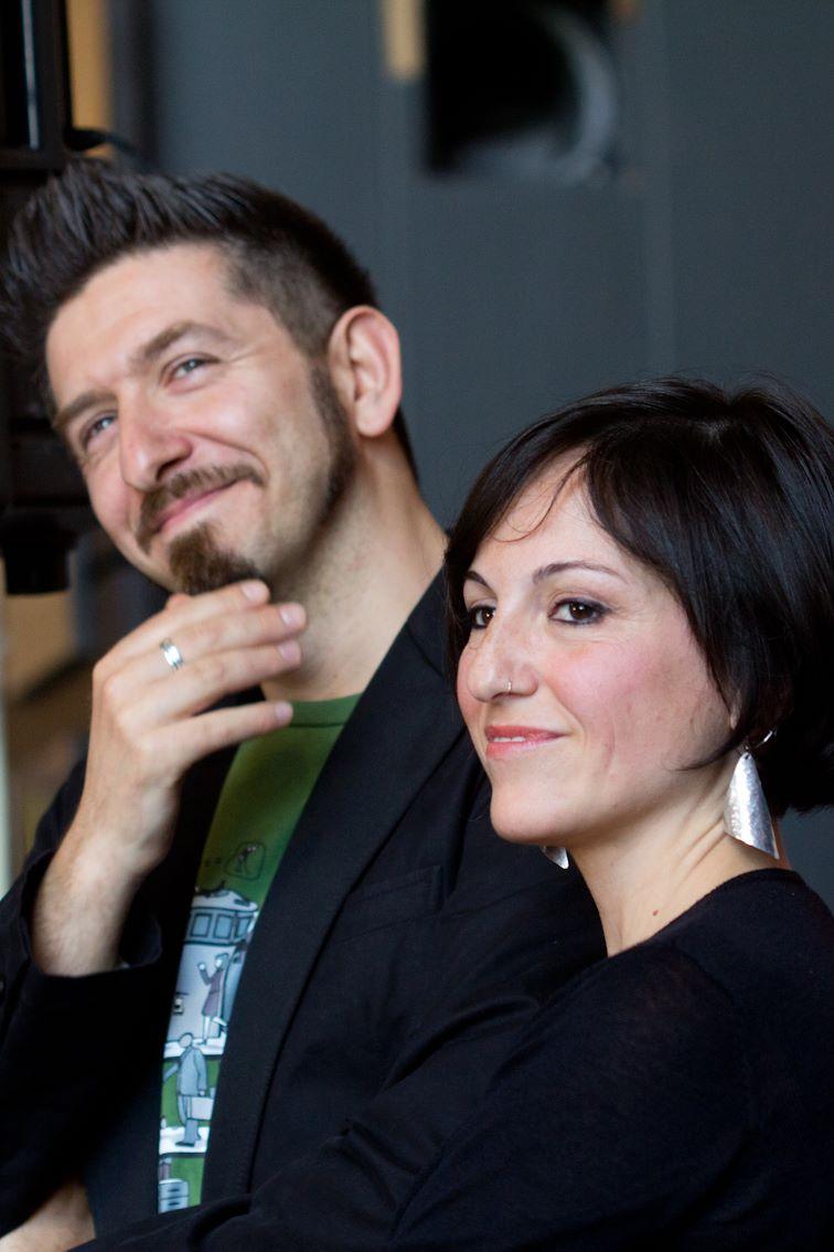 Assia Petricelli e Sergio Riccardi, autori di Cattive Ragazze, miglior libro a fumetti SINNOS EDITRICE