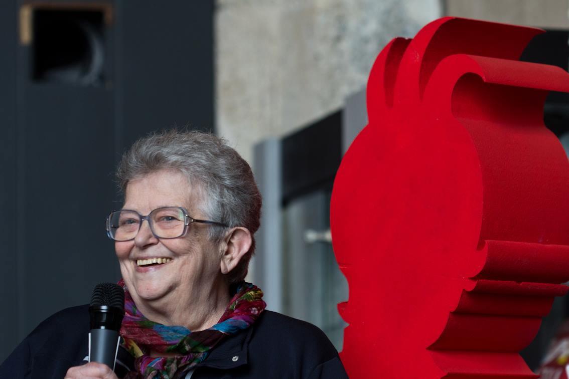 Gianna Vitali, fondatrice della Libreria dei ragazzi di Milano e membro della giuria del Premio
