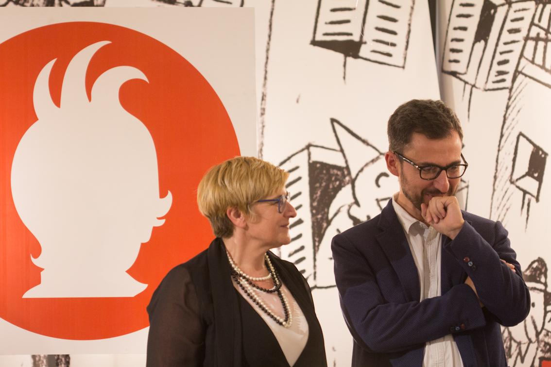 M. Letizia Maggini e Daniele Garbuglia (Eli - La Spiga) - foto di Mara Pace