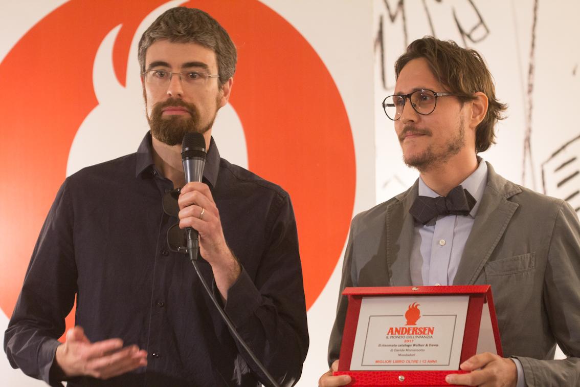 Alessandro Gelso e Davide Morosinotto - foto di Mara Pace