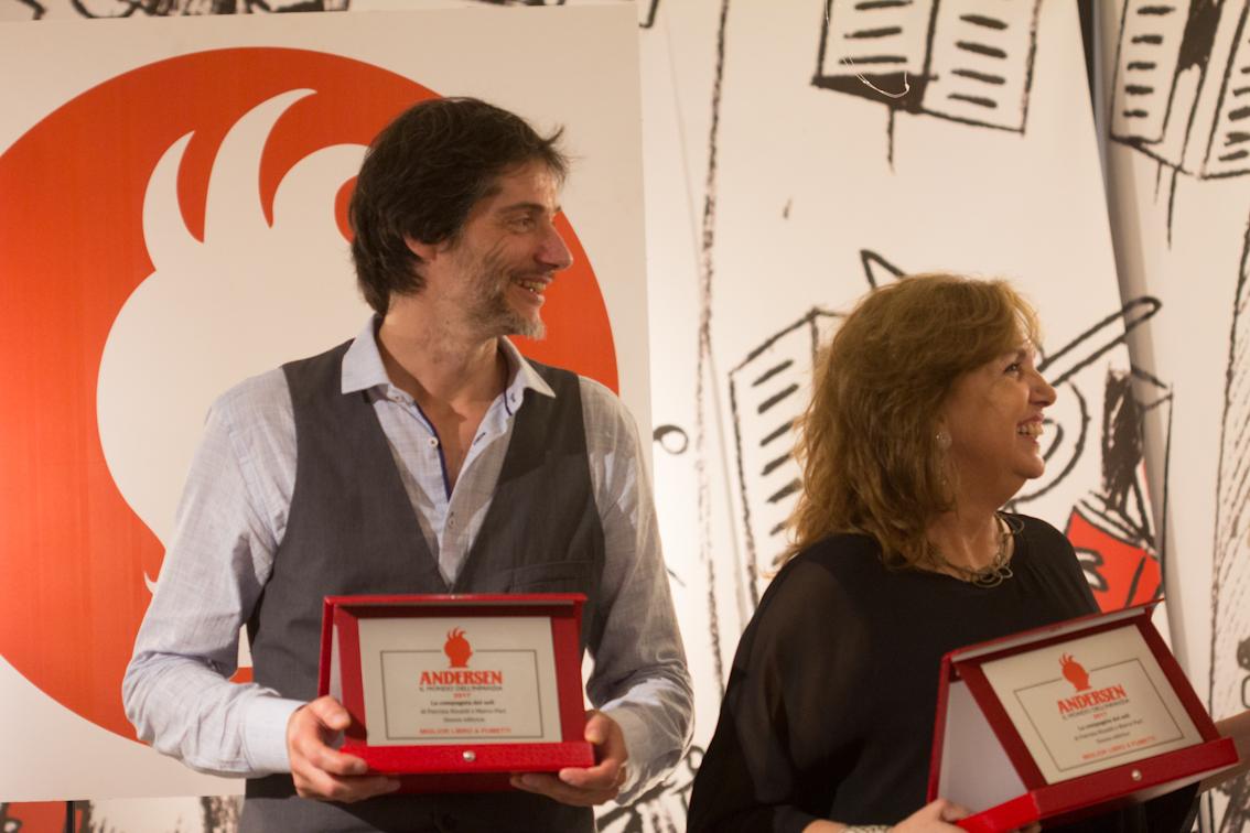 Patrizia Rinaldi e Marco Paci - foto di Mara Pace