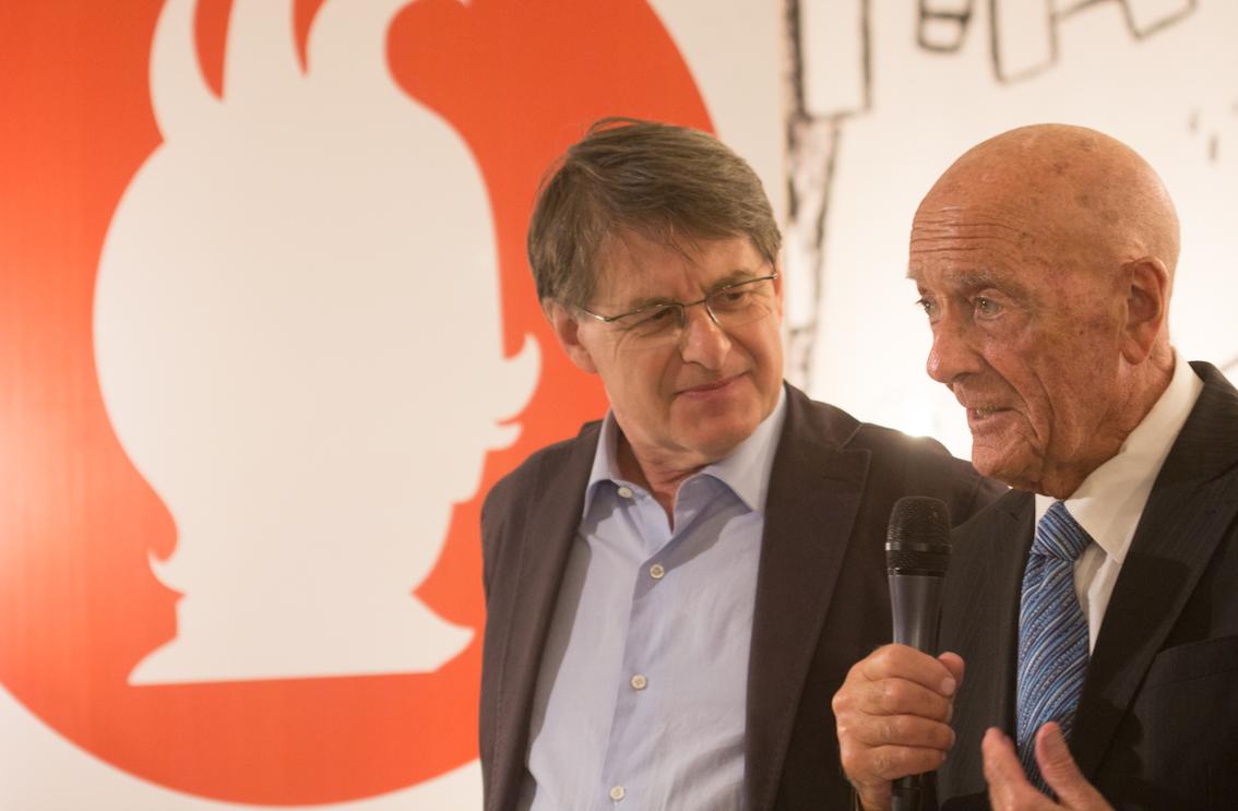 Mino Milani e Pino Boero - foto di Mara Pace
