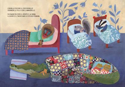 Il grande libro dei pisolini, Topipittori, 2013