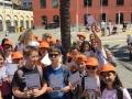 premio andersen_A SPASSO CON LE STORIE02_Le classi della scuola Nicolodi di Trento a Porto Antico