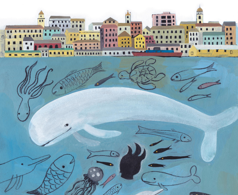 Un particolare dalla copertina di Simona Mulazzani per ANDERSEN 333