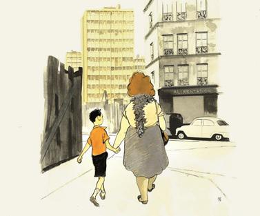 Illustrazione LA VIE DEVANT SOI di Manuele Fior