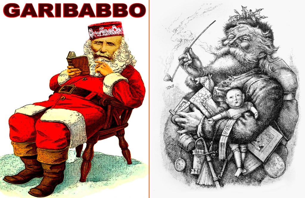 Babbo Natale di Thomas Nast e Garibabbo di Skiaffino