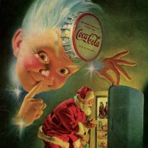 Pubblicità di Natale: l'introduzione del libro e la mostra
