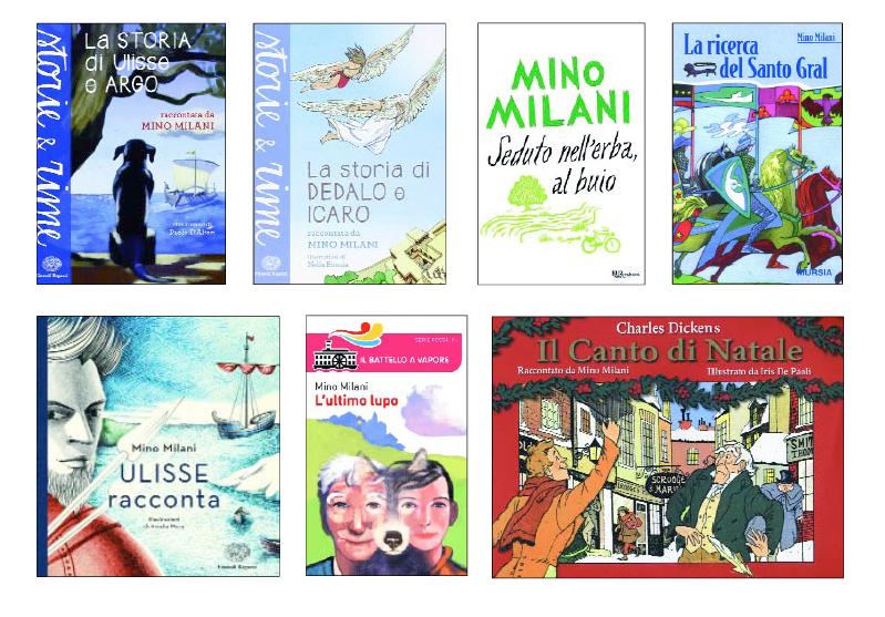 mino milani libri - premio andersen