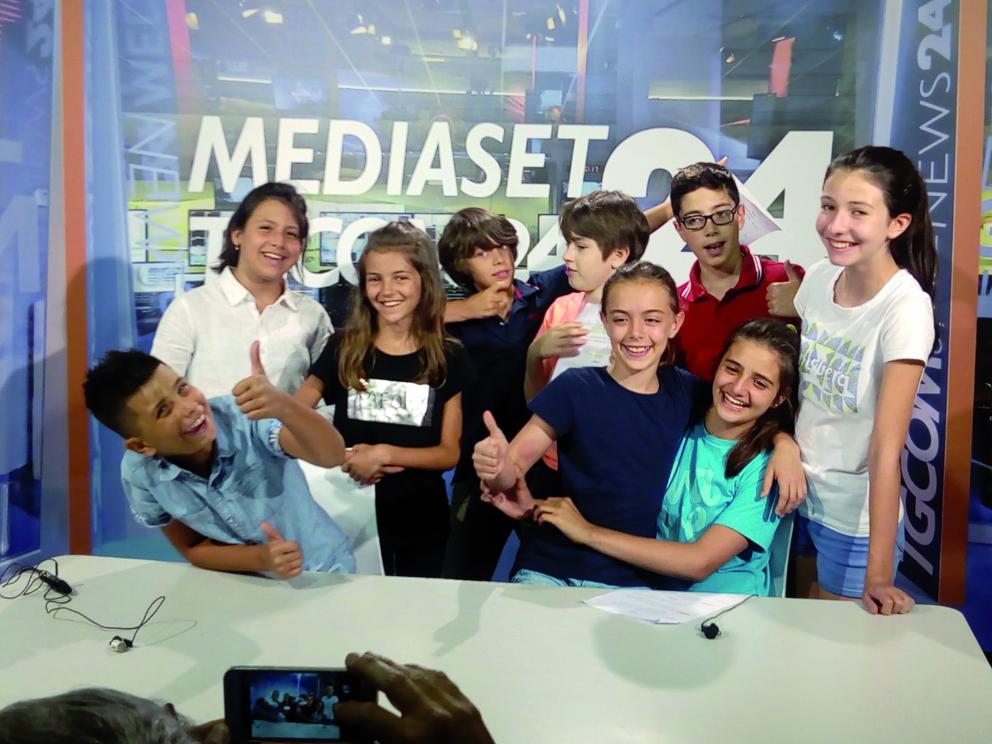 giovani reporter - La redazione del Tg dei Ragazzi