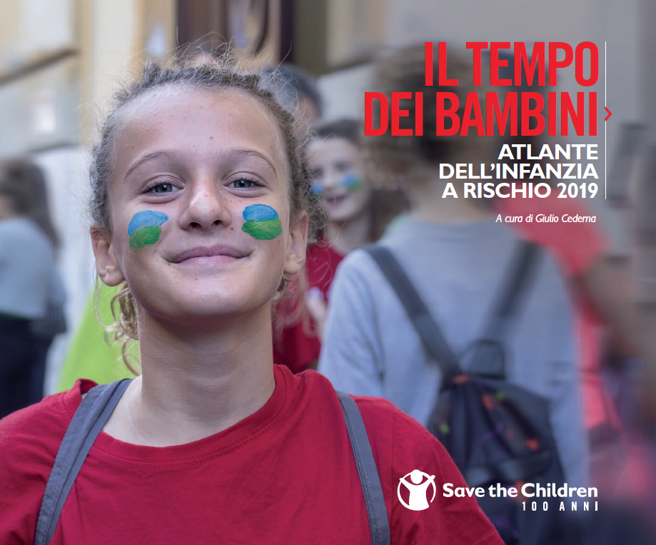 save the children atlante dell'infanzia a rischio