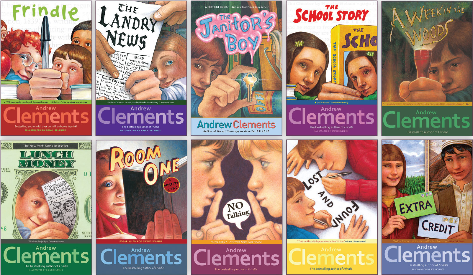 andrew clements drilla eng