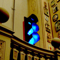 Semafori blu per Gianni Rodari