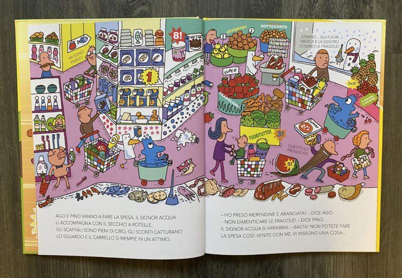 libri per ragazzi cibo