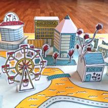 Costruire con la carta: città immaginarie e pop-up letterari