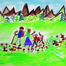 Due eventi PInAC: i disegni dei bambini in mostra
